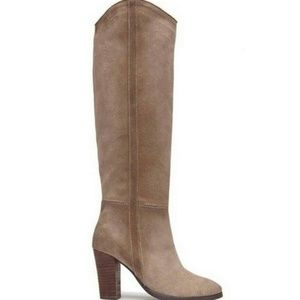 Dolce Vita Myste Taupe Suede Tall Boots